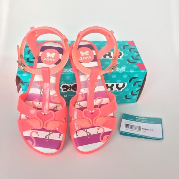 36b2b6e3c913 Zaxy by Grendene Zizou Flamingo Sandals